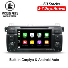 "7"" Bulit-in apple Carplay Android Auto Radio Bluetooth For BMW E46 M3 MG ZT GP Car DVD Player(China)"