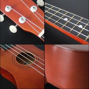Image 5 - Ukulele guitare basse en Nylon, 4 cordes en palissandre, 21 pouces, Soprano Ukulele pour débutants ou joueurs de base, concert Ukulele