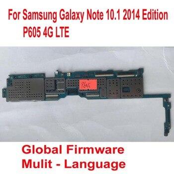 Оригинальная материнская плата глобальной версии для samsung Galaxy Note 10,1 2014 Edition P605 4G LTE материнская плата шлейф цепи