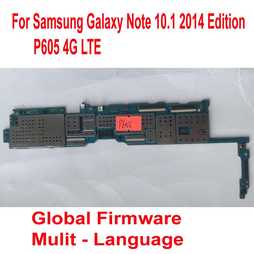 Mainboard for Samsung Galaxy 4G LTE Card-Fee Flex-Cable Circuits Global-Version P605 title=