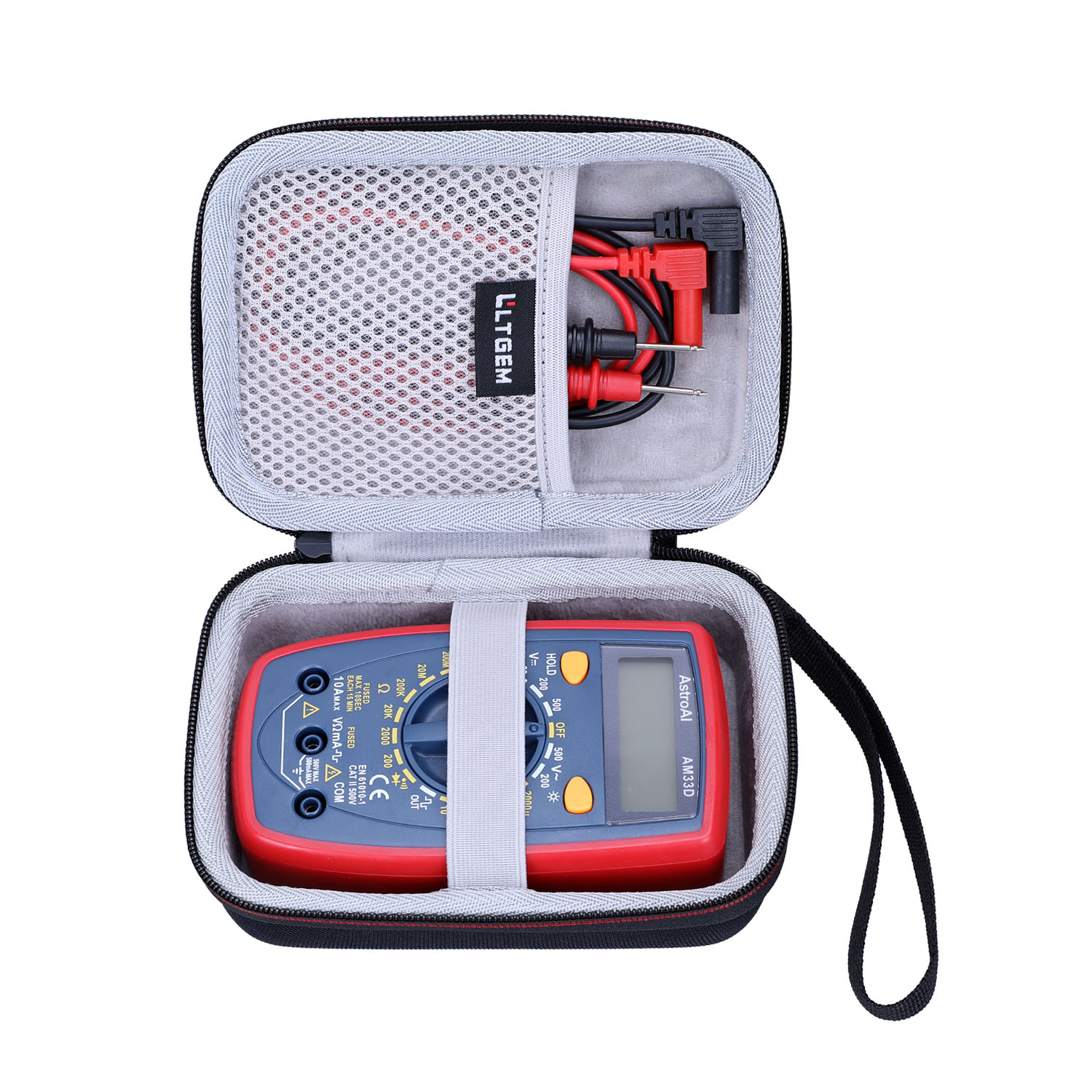 Dual Fused fo Digital Multimeter w// Ohm Volt Amp and Diode Voltage Tester Meter
