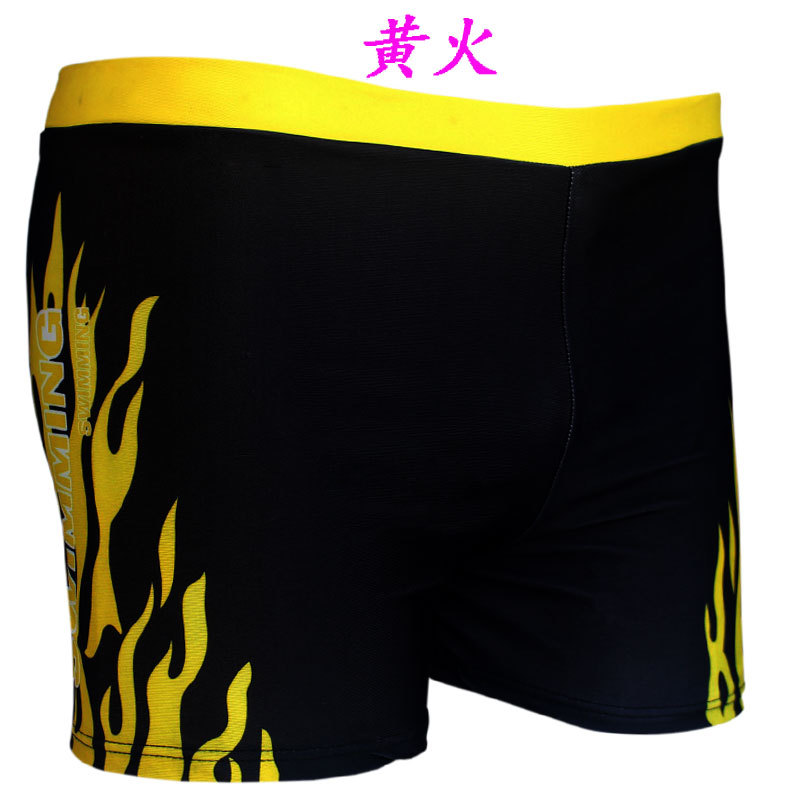 Men Flame Swimming Trunks Fei Yue Brand Top Grade New Style Men Swimsuit Flame Swimming Trunks 8619