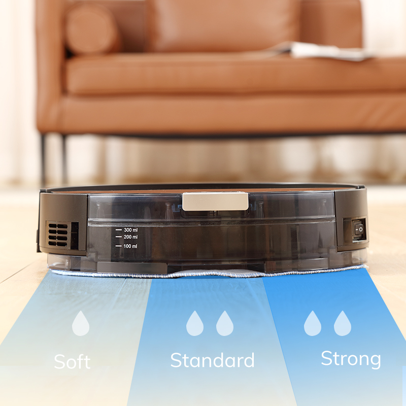 ILIFE NEW A80 Plus Robot Vacuum Cleaner Smart WIFI App control Powerful suction Electronic wall cleaning 6