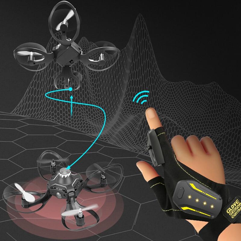 Mini RC Hand Sensor Quadcopter Drone with 480P Camera 1