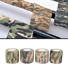 Hunting Camouflage Tape Outdoor Camo Gun Hunting Waterproof Camping Camouflage Stealth Duct Tape Camouflage Cycling Stickers camouflage