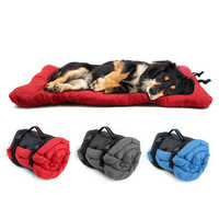 Waterproof Dog Bed Outdoor Portable Mat Multifunction Pet Dog Puppy Beds Kennel For Small Medium Dogs
