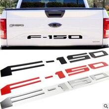 Автомобильный 3D эмблема АБС значок логотип наклейка для Ford F-150 SVT Raptor F150 автомобиля задний багажник наклейка с буквами наклейки Средства для...