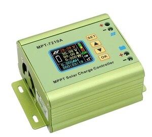 MPT-7210A LCD MPPT Solar Panel Charge Controller Aluminum Alloy for LiPo Battery output 600W 24V 36V 48V 60V 72V battery pack(China)