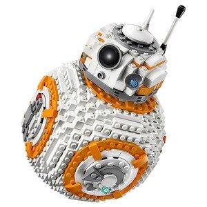 1238 sztuk zestaw robotów BB8 seria 75187 klocki kompatybilne Lepin StarWars