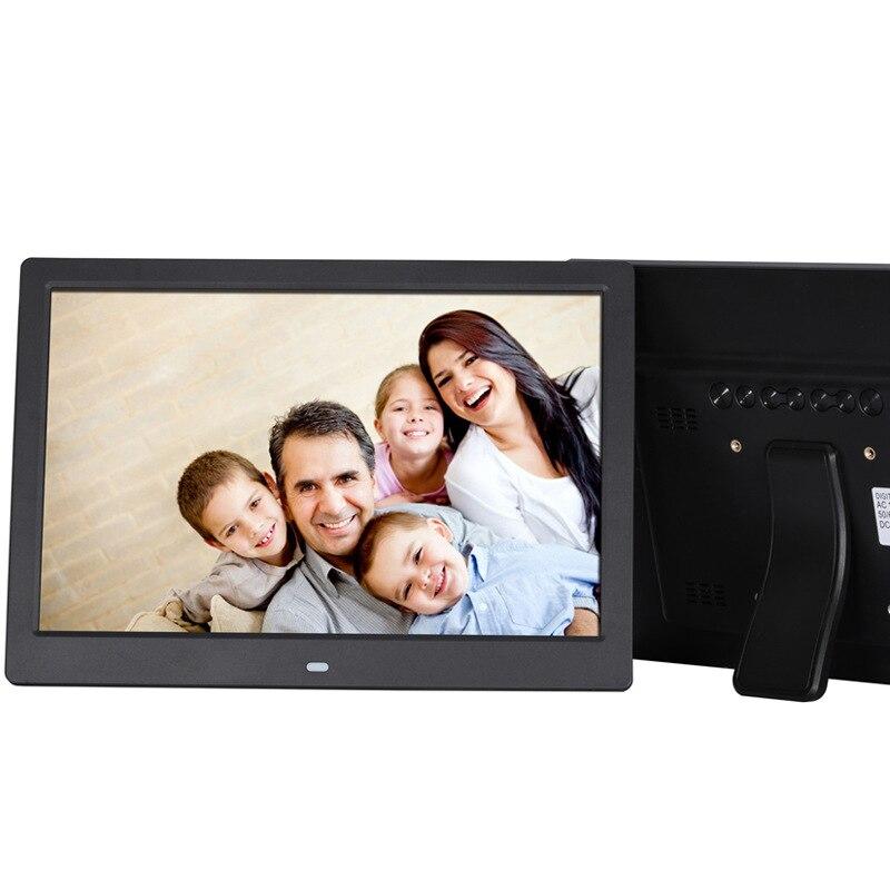 SJD-1203 cadre photo numérique de 12 pouces prenant en charge les images vidéo plein format album photo haute définition multifonction