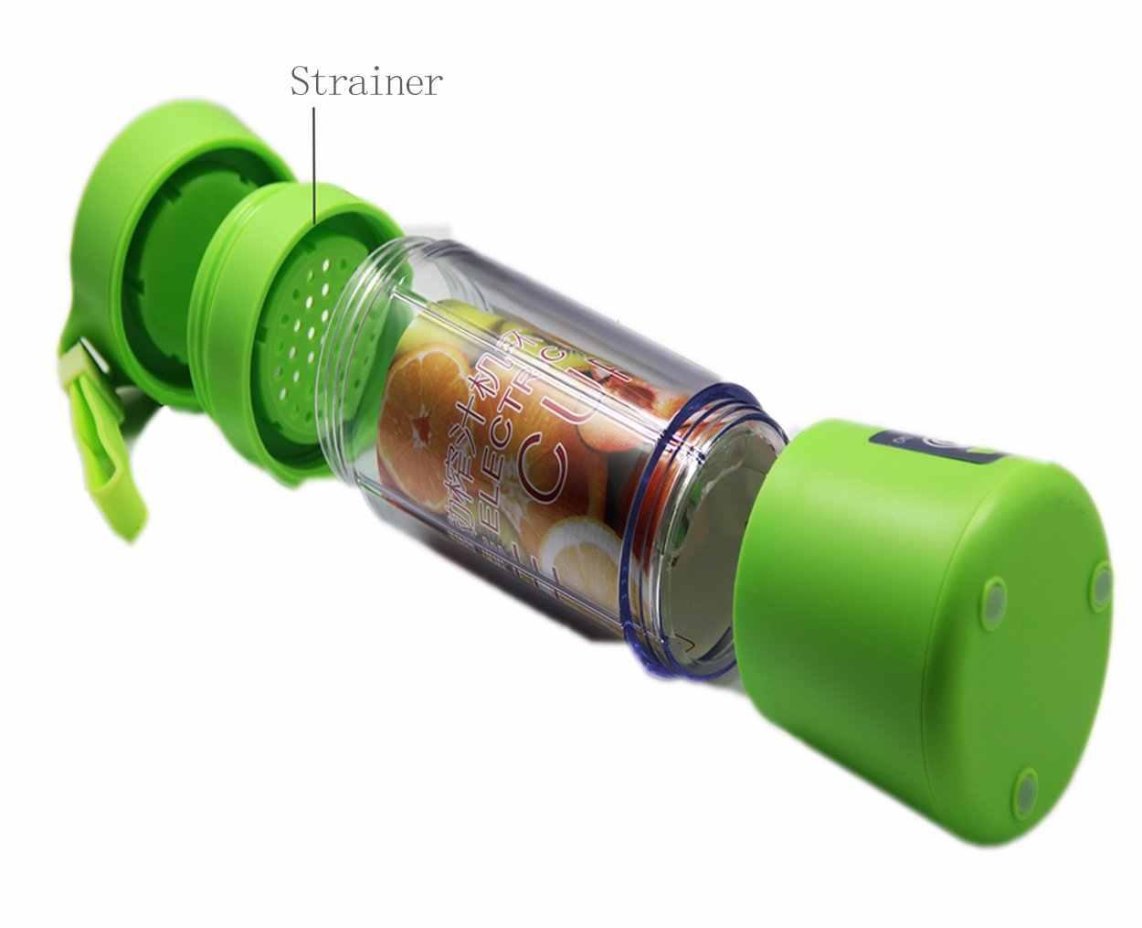 Соковыжималка чашка мини USB портативный персональный Размер Eletric Аккумуляторный миксер смешивание фруктов блендер бутылка для воды 380 мл