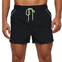 100% нейлоновые мужские короткие плавки 5 дюймов быстросохнущие