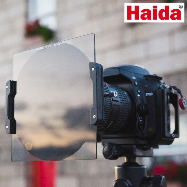 Verre optique 150mm CPL polariseur C POL filtre 150x150mm insérer filtre carré de caméra