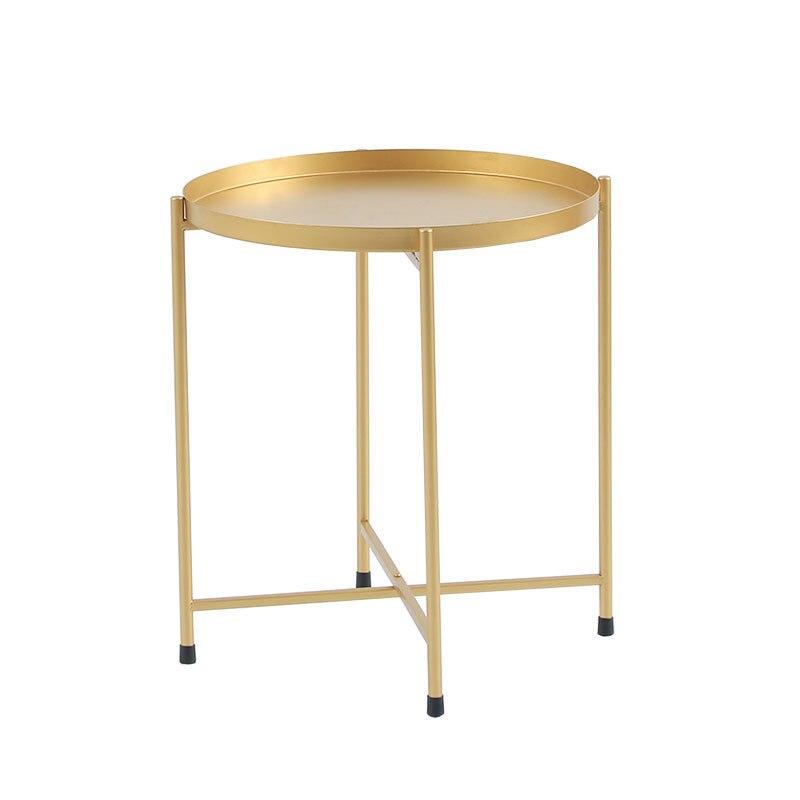 Nordic bedhead recebe pequena mesa de chá o lado do sofá desmontagem mesa dobrável sala de estar móveis mesa de café - 2