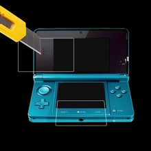 2021 New Clear Film Top+Bottom LCD Screen Protector For New 3DSLL/XL Console