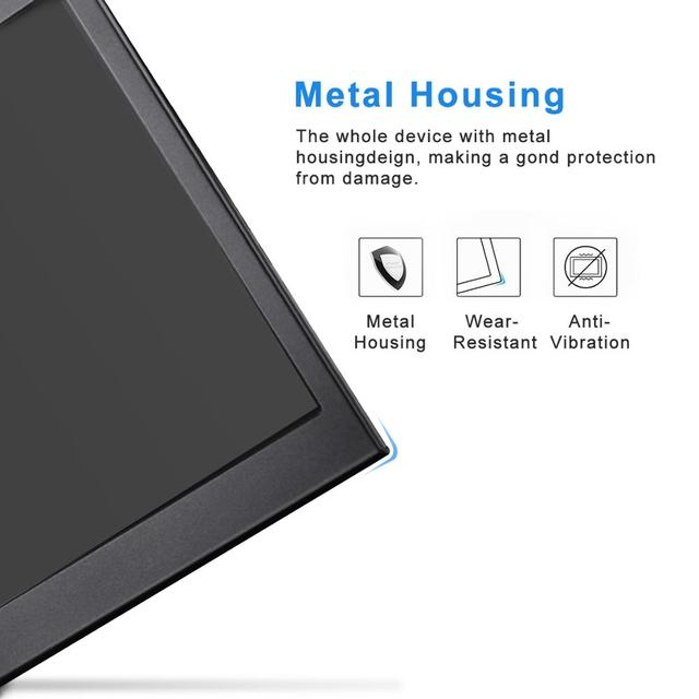 Portable Monitor hdmi touch screen 13.3 inch 2K PC PS4 Xbox 360 1080P IPS HD LCD LED Display for Raspberry Pi switch laptop 5