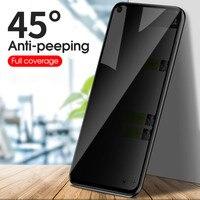 Protector de pantalla de cristal templado antiespía para móvil, para Huawei Nova 5T, P20 Pro, P40 Lite, P30, Mate 20 Lite, Honor 8X, 10, 20, 8C, 8S, 9A, 7i