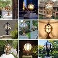 Европейский стиль наружная Водонепроницаемая Ландшафтная подсветка дверная стойка лампа для дома настенная вилла внутренний двор Ландшаф...