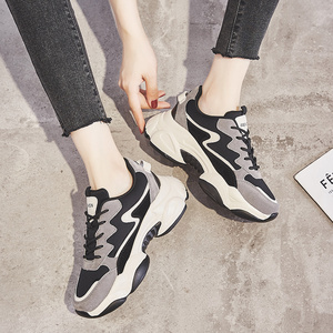 Image 2 - 2020 תוספות מכירה לוהטת אביב אופנה נשים נעליים יומיומיות עור פלטפורמת נעלי נשים סניקרס גבירותיי לבן מאמני Chaussure Femme