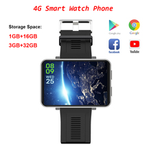 Reloj inteligente DM100 con WiFi, 4G, 3GB + 32GB, GPS, Bluetooth, llamadas telefónicas, cámara de 5MP, deportivo, resistente al agua, para Android 7,1