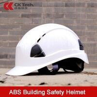 Ck tech. abs capacete de segurança construção escalada trabalho capacete de proteção capacete capacete capacete de segurança ao ar livre respirável engenharia resgate