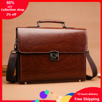 Men's bag office bags laptop portable code lock Business briefcase large capacity shoulder messenger computer luxury handbags