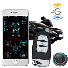 cardot 4g Keyless Entry gps gsm Smart Pke Remote Starter Start Stop Engine Car Alarm