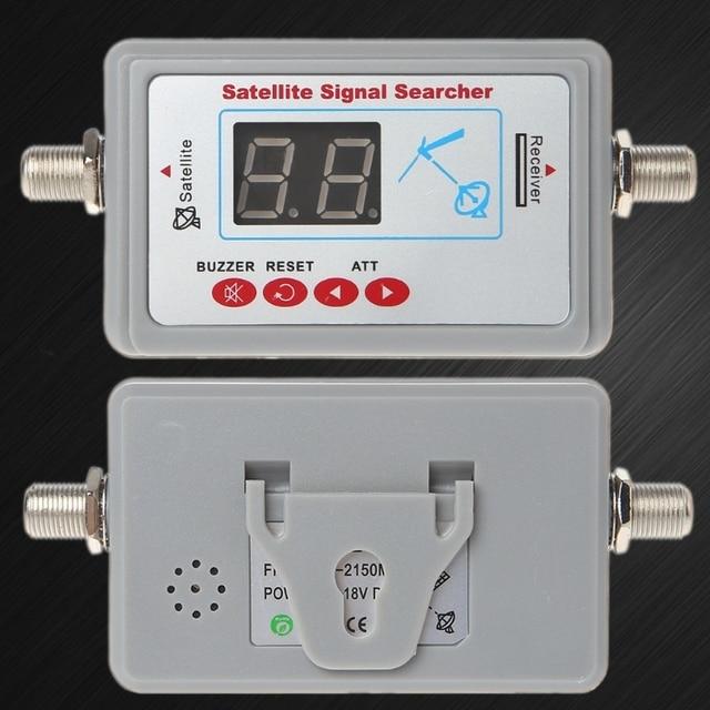 Digital TV Antenna Satellite Signal Finder Meter Searcher LCD Display SF 95DL