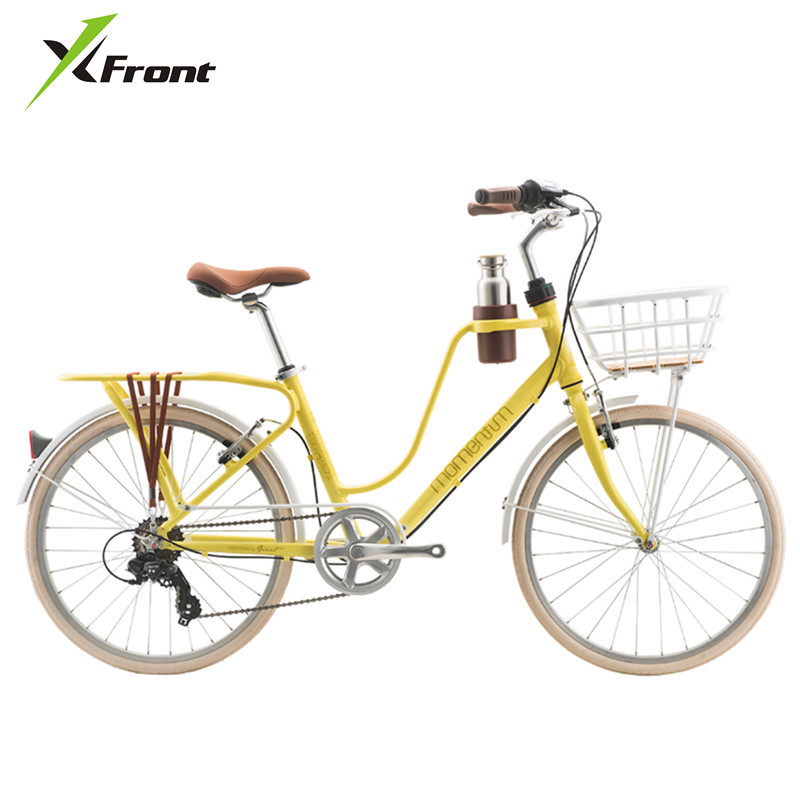 X-Front Road Bike Aluminum Alloy Frame 24/26 Inch Wheel Shiman0 Shift Lady Bicycle Women Bicicleta Girl's  BMX