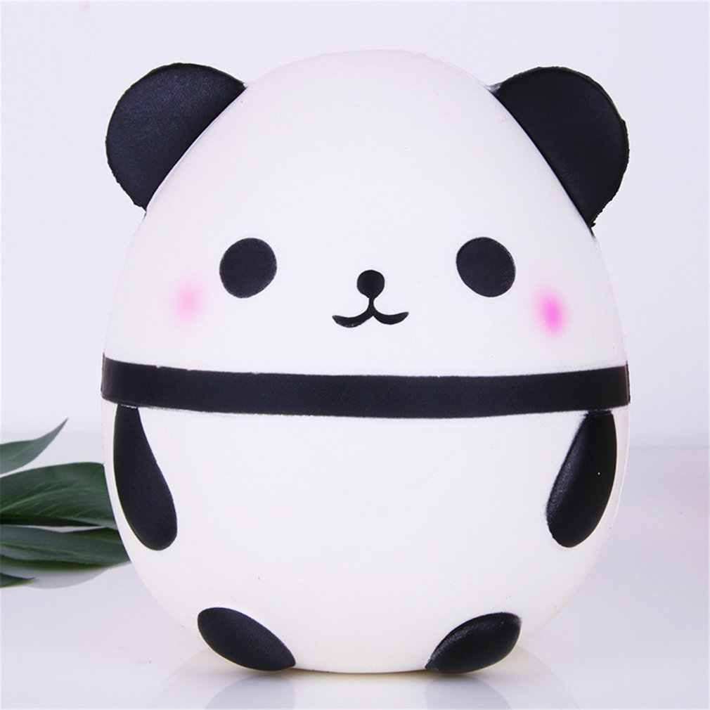 15 cm Anti-stress Squishy Simulation White Panda Slow Rebound Toys Funny Infant Squeeze Exquisite Collection Soft Toy Kids