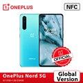 Оригинальная глобальная версия OnePlus Nord 5G OnePlus Official Store Snapdragon 76 5G смартфон 8 ГБ 128 6,44 ''90 Гц активно-матричные осид, 48MP Quad камеры Warp заряжайте 30T; ...