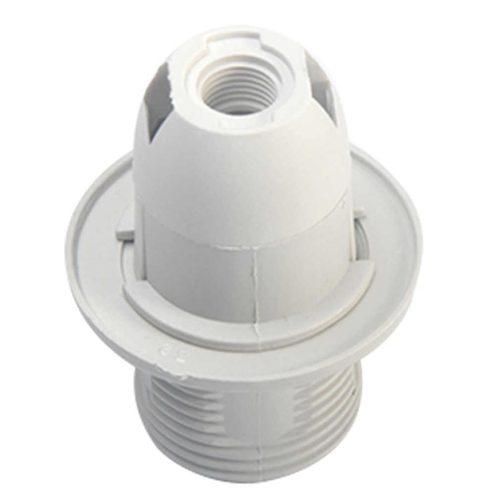 Lamp Bases Adapter E14 4A 250W Light Bulb Lamp Holder Pendant Edison Screw Cap Socket Vintage Black 250V