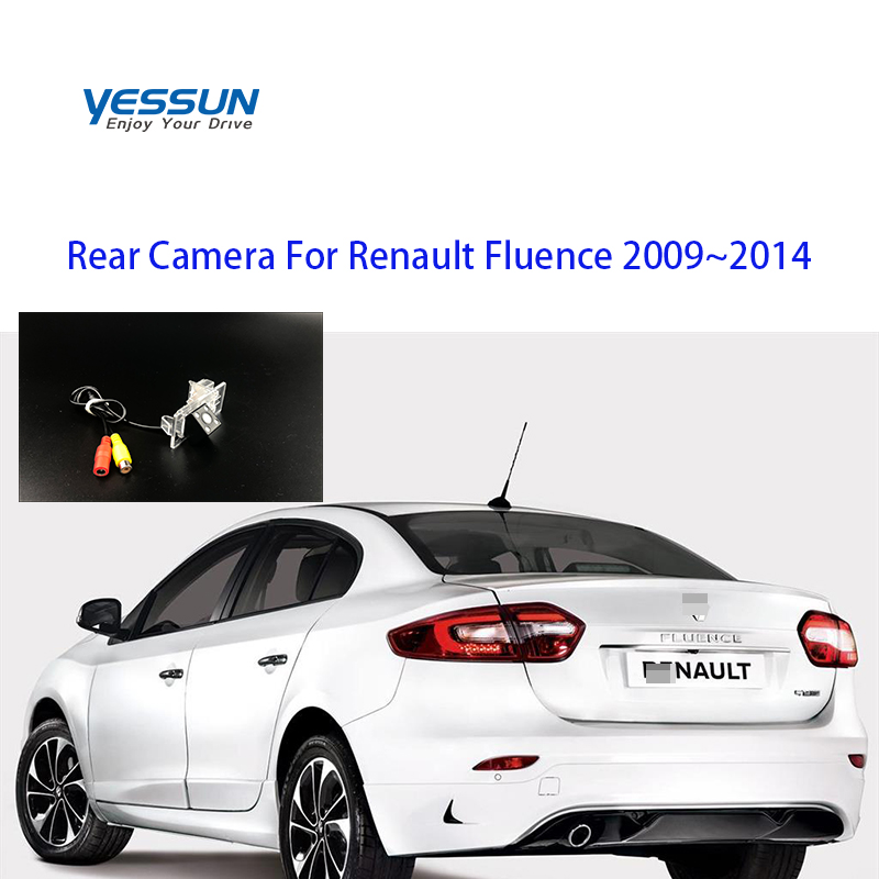 Yessun Special Car Rear View Reverse Backup Camera Rearview Parking  For Renault Fluence 2009~2014