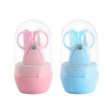 Kit-Items Nail-Care Manicure Baby Trimmer-Cutter Scissors Children Infant 4pcs/1set Safe