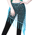 Пояс для восточных танцев, ажурный треугольный набедренный платок, аксессуар для танца живота, одежда для выступлений