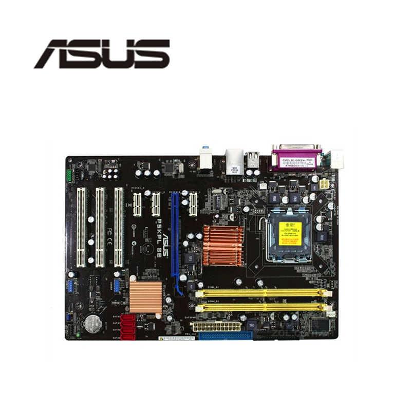 Für Asus P5KPL SE Desktop Motherboard G31 Sockel LGA 775 Q8200 Q8300 DDR2 Original Verwendet Mainboard Auf Verkauf