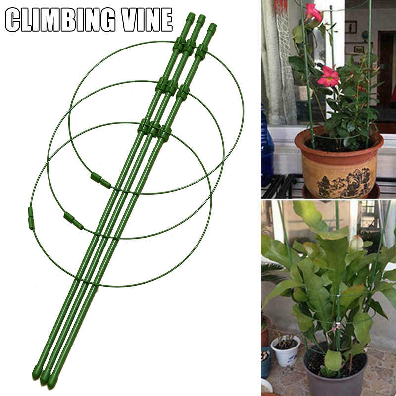 3 Rings Tomato Cages Rings Climbing Plant Support Garden Trellis Tomatoes Stand