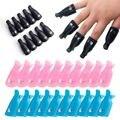 10 шт. Гель-лак для ногтей для удаления обертывания Пластик жидкость для снятия лака для ногтей искусство впитывающийся для Кепки ногтей обе...