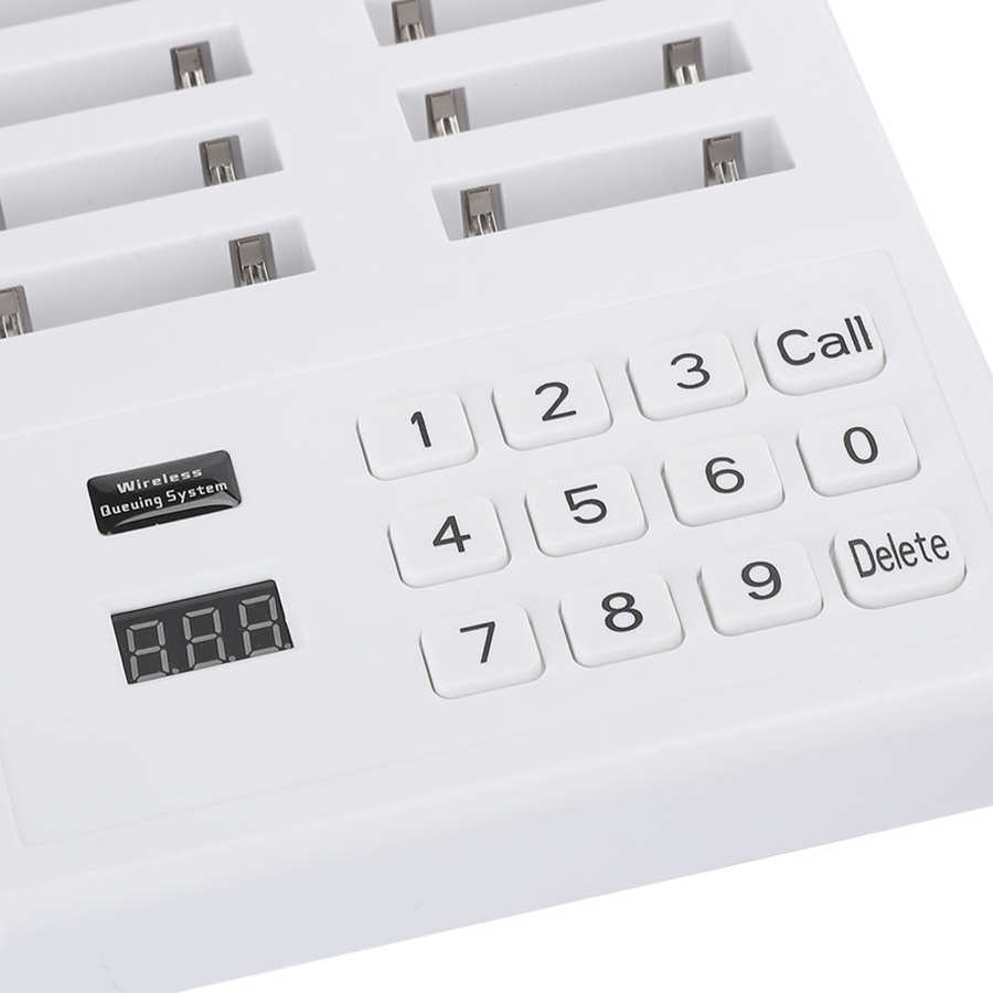 DealÔPager Calling-System-Receiver Queue Waiter Restaurant Wireless for SU 666B 100-240v Puller'