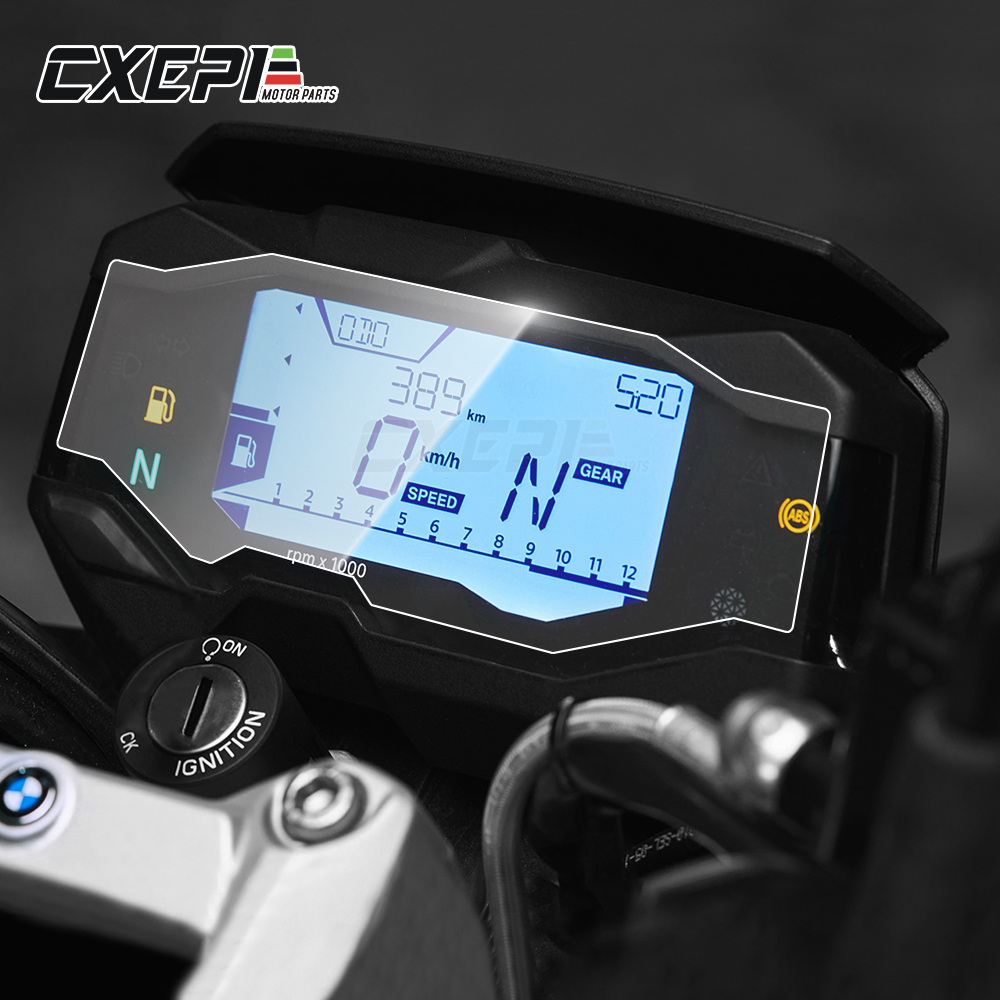 2 PCS FOR <font><b>BMW</b></font> G310GS <font><b>G310R</b></font> Motorcycle <font><b>Accessories</b></font> Instrument Dashboard Membrane Scratch Protection Sticker image