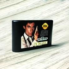 James Bond 007 The Duel   USA Label Flashkit MD Electroless Gold PCB Card for Sega Genesis Megadrive Video Game Console