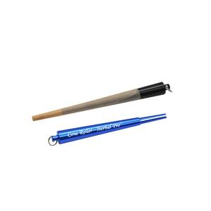 Image 3 - HONEYPUFF מתכת קונוס רולר יצרנית Prerolled קונוס עשב אביזרי נייר גלגול מתגלגל סיגריות יצרנית