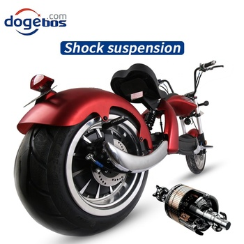 New Modal High Speed Citycoco 2000W Electric Motorcycle 60V 20AH 12inch Power Scooters Motorcycles Electric Adult E Scooter 2