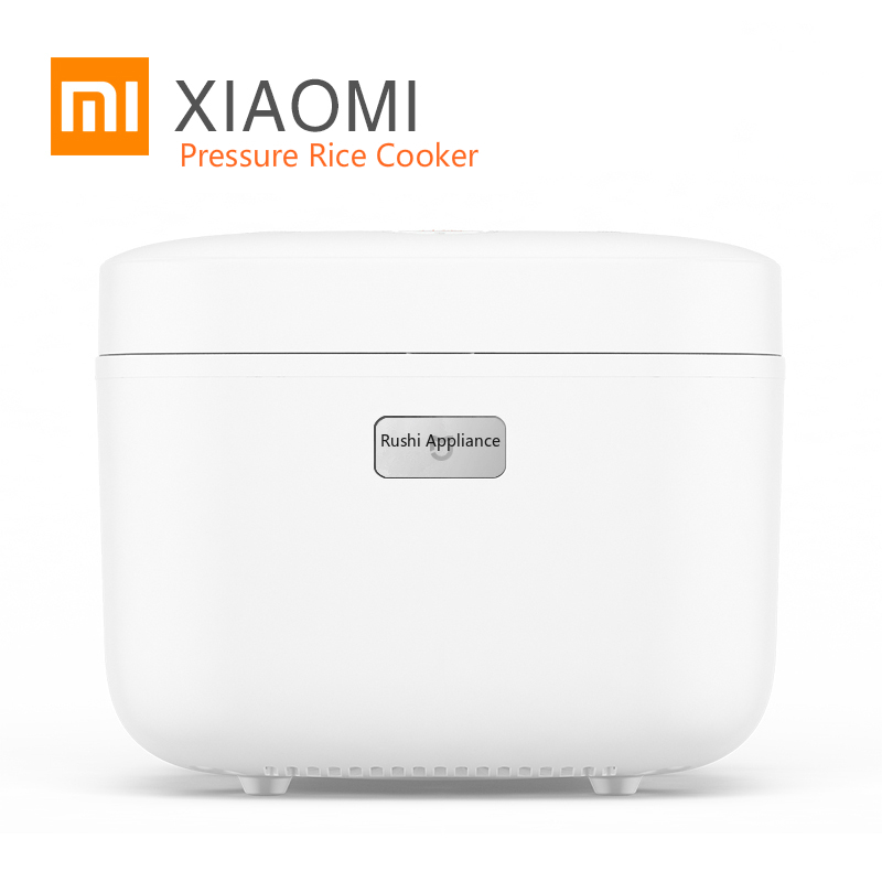 New Xiaomi HI Electric Rice Cooker 3L Alloy Cast Iron Heating Pressure Cooker Heated Food Container Kitchen Appliances APP WiFi