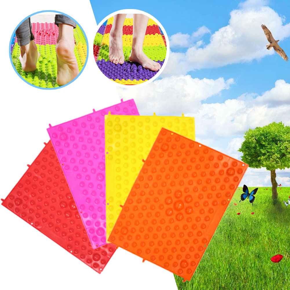 Healthy Blood Circulation Therapy Mat Mat Mat Toe Pressure Mats Foot Health Care TPE