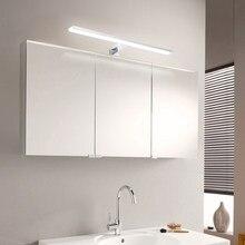 LED ayna ışıkları banyo yatak odası Vanity ışık makyaj aynası ışıkları LED dolap duvar lambası IP44 6000K nötr beyaz duvar lambası