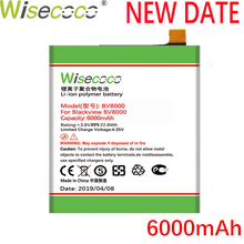 Wisecoco BV8000 2PCS 6000mAh New Produce Battery For Blackview BV 8000 Pro V636468P High quality Battery+Tracking Number