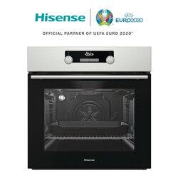 Hisense O522AX печь Утопленная, легко моется, светодиодный дисплей, 3300 Вт, 71л, нержавеющая сталь, 59,7 × 59,5 × 54,7 см