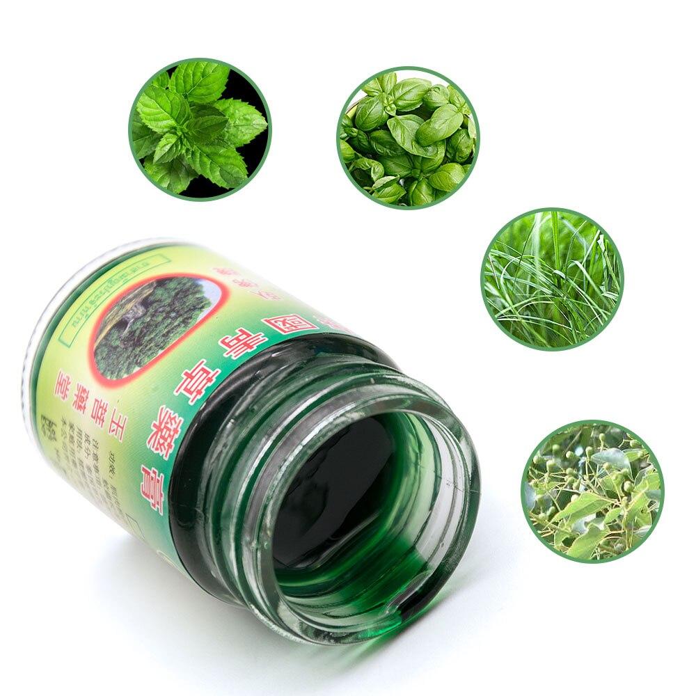 50g/pc Thailand Green Herbal Cream Cold Headache Balm Pain Ointment Refresh Oneself Influenza Cold Headache Dizziness Summe