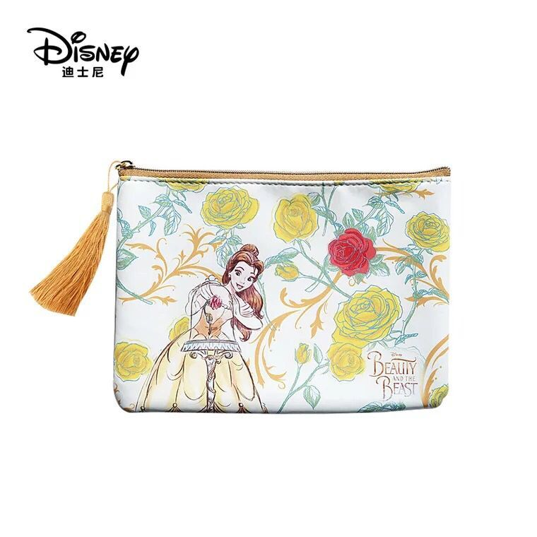 New Genuine Disney Beauty And The Beast Multi-function Women Bags Wallet Purse Baby Care Bag Mommy Bag Girls Gifts Free Shipping